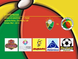 Em jogo atrasado válido pela 1ª Rodada, Rio Grande enfrenta o Novo Horizonte