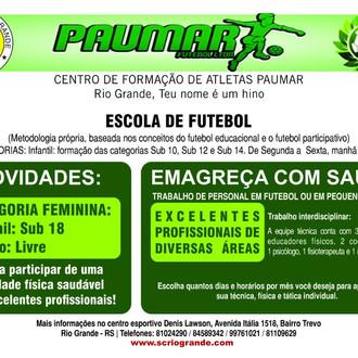 Sport Club Rio Grande anuncia Escola de Futebol