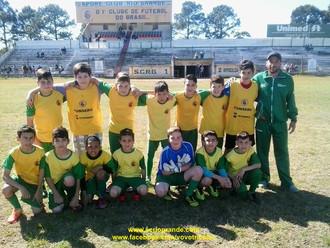 Entre em campo com a 'Escolinha S.C. Rio Grande & PAUMAR (8 a 14 Anos)'...