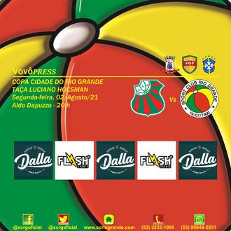 Em agosto, Vovô disputa a Copa Cidade do Rio Grande