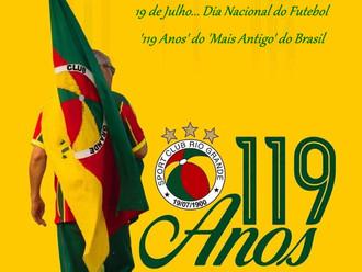 19 de Julho... Dia Nacional do Futebol - '119 Anos' do 'Mais Antigo' do Brasil