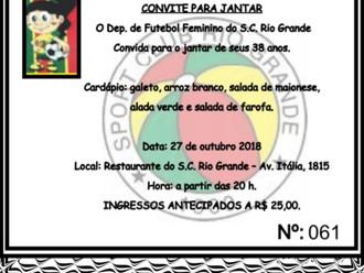 Neste sábado (27/10), 'Loucurinhas do Vovô' promovem Jantar comemorativo