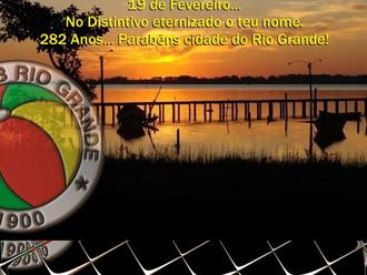 19 de Fevereiro... '282 Anos'. Parabéns cidade do Rio Grande!