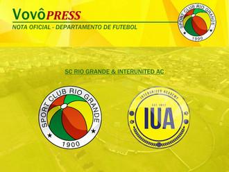 Sport Club Rio Grande firma parceria com time Norte-americano
