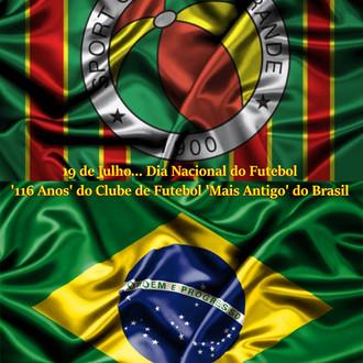 19 de Julho... Dia Nacional do Futebol - '116 Anos' do Clube de Futebol 'Mais Antigo&#39