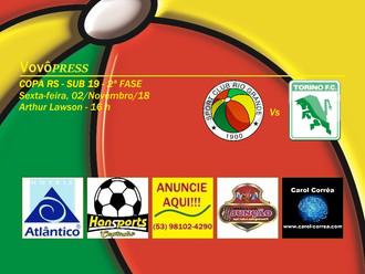Copa Sub 19... Rio Grande busca recuperação na 2ª Fase do Certame