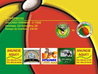 Gauchão Feminino... S.C. Rio Grande viaja a Guaíba para encarar o S.C. Black Show