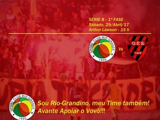 Próximo Foot-Ball Match, Veterano Rio Grande recebe o Grêmio Esportivo Sapucaiense