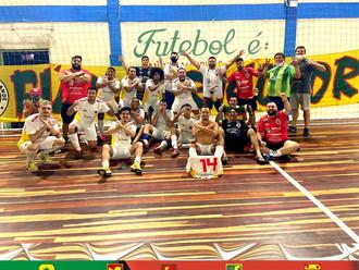 Futsal do Vovô vale Ouro
