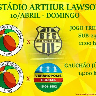 Sub 23 realiza Jogo treino e pelo Estadual Júnior a equipe tricolor encara o Veranópolis.