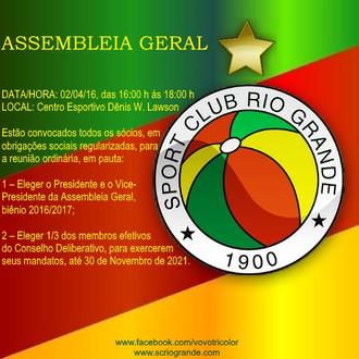 Ao Quadro Social, convocação Assembleia Geral...
