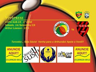Copa Sub-19, Rio Grande encara o líder Sapucaiense