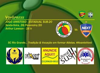 Sub-20 do Vovô realiza jogo amistoso, visando o Estadual da categoria
