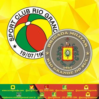 Sport Club Rio Grande Saúda e Parabeniza a Brigada Militar!