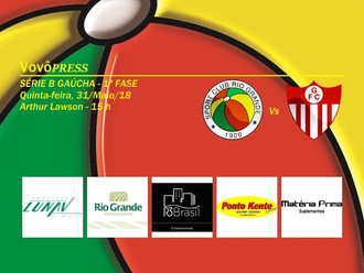 Abrindo o 2º Turno da Fase Classificatória, Rio Grande recebe o Guarany de Bagé