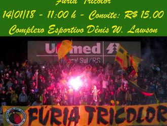 Fúria Tricolor organiza Almoço de Confraternização