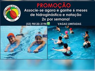 S.C. Rio Grande lança Promoção para novos Sócios... Consulte-nos!