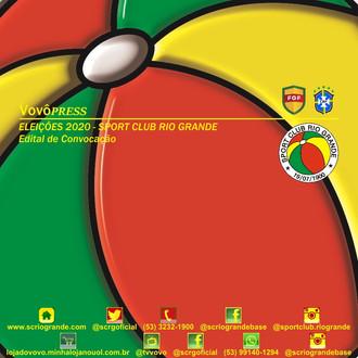 EDITAL DE CONVOCAÇÃO - Eleições 2020 - Sport Club Rio Grande