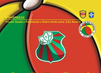Tricolor Saúda e Parabeniza o coirmão Rubro Verde