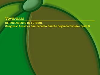 Congresso Técnico da Segunda Divisão Gaúcha tem data alterada