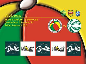 Rio Grande e Gaúcho duelam por vaga na Final e acesso a Série A2