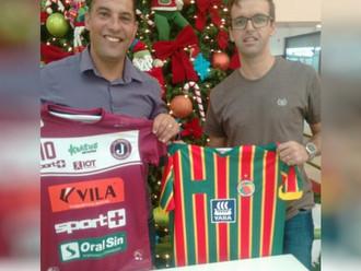 Sport Club Rio Grande firma parceria com agremiação do futebol Catarinense