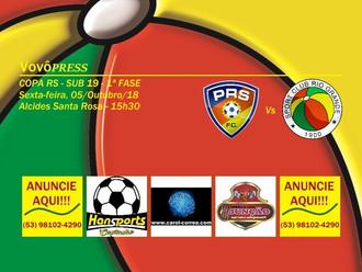 Transferido para Sexta-feira (05/10), duelo entre PRS versus Rio Grande