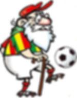 Antigo Mascote do Sport Club Rio Grande, o 'Vovô'