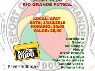 Departamento de Futsal promove 'Jantar de Apresentação'