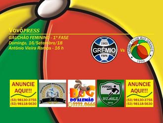 Gauchão Feminino... Domingo tem duelo Tricolor no Estádio Antônio Vieira Ramos
