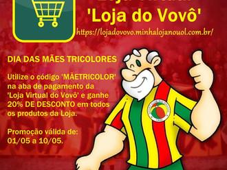 PROMOÇÃO!!! Dia das Mães Tricolores