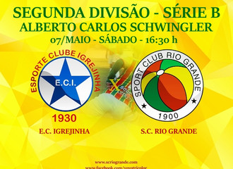 Próximo Foot-Ball Match, Veterano Rio Grande realiza seu 5º compromisso na Série B...