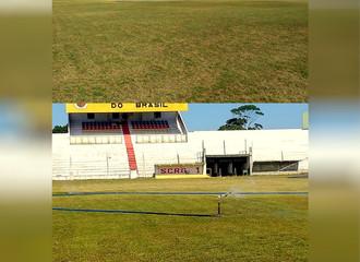 Estádio Arthur Lawson em manutenção para a Temporada 2020