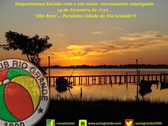 19 de Fevereiro... '280 Anos'. Parabéns cidade do Rio Grande!