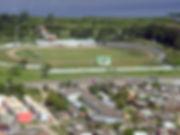 Vista aérea do Estádio Arthur Lawson (Foto créditos: Fábio Dutra / Jornal Agora)