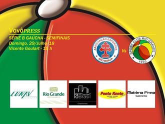 Na 'Terra dos Presidentes', São Borja e Rio Grande duelam por vaga na Divisão de Acesso - Ed