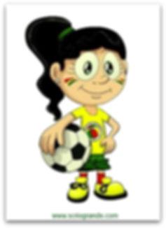 'Loucurinha do Vovô'... Mascote do Departamento de Futebol Feminino do Sport Club Rio Grande