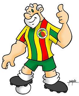 Atual Mascote do Sport Club Rio Grande, o 'Vovô do Futebol brasileiro'