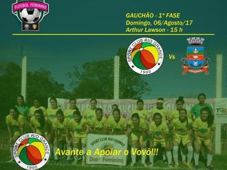 Gauchão de Futebol Feminino, Tricolor Veterano estreia neste domingo (06/08)