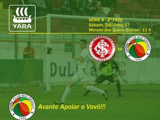 Próximo Foot-Ball Match, S.C. Internacional versus S.C. Rio Grande, será no Sábado (08/07)