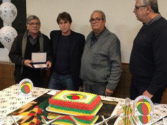 Mário Roberto é o grande homenageado na Ceia Veterana '119 Anos'