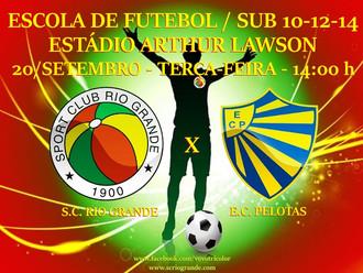 Escola de Futebol S.C. Rio Grande/Paumar realiza amistosos...