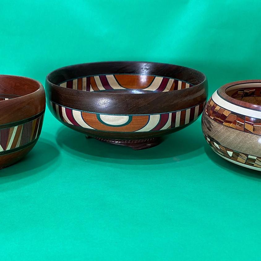 Frank Penta presents: Designing and Turning Southwest Laminated Bowls
