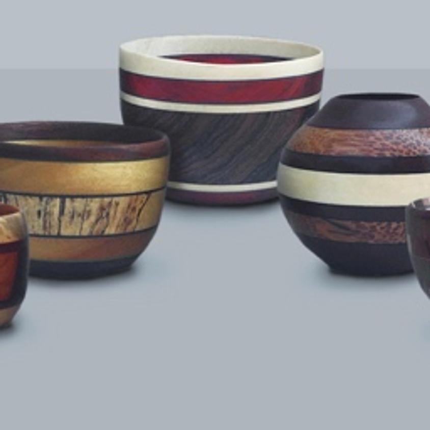 "Frank Penta presents: Designing and Turning 3"" Laminated Bowls"
