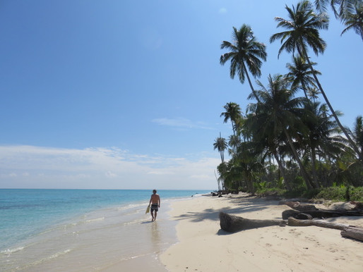 Pulau Palambak: paradijs op aarde