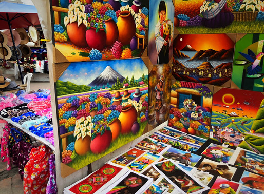Ecuador: afdingen op de Otavalo market