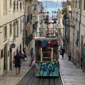 Lissabon, met een vleugje Dublin....