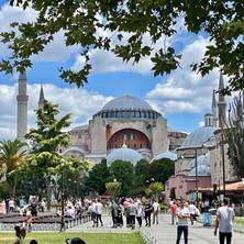 Wandelen in Istanbul, Sulthanamet: even wat anders...