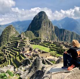 Wereldwonder Machu Picchu in Peru