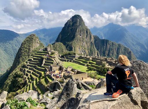 Wereldwonder Machu Picchu